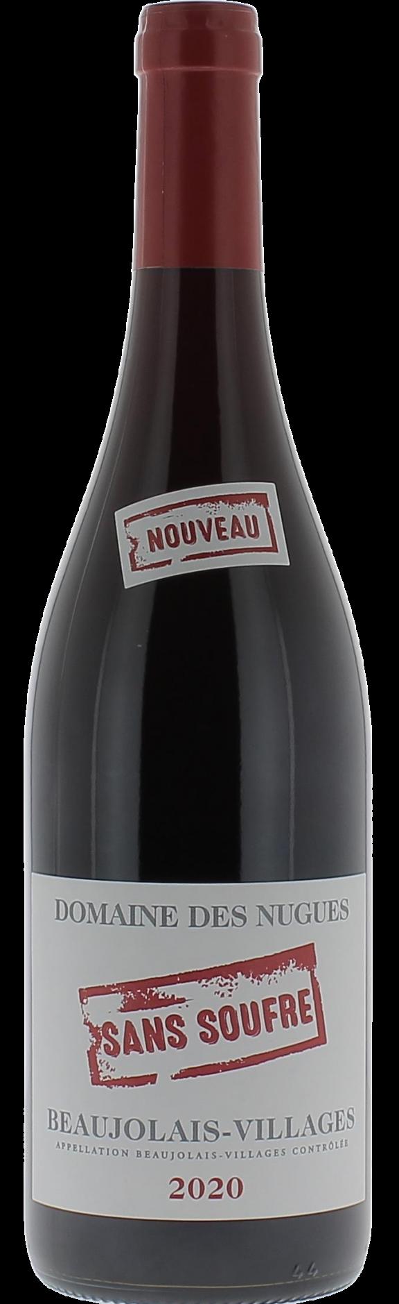 Beaujolais Villages Nouveau sans Soufre 2020