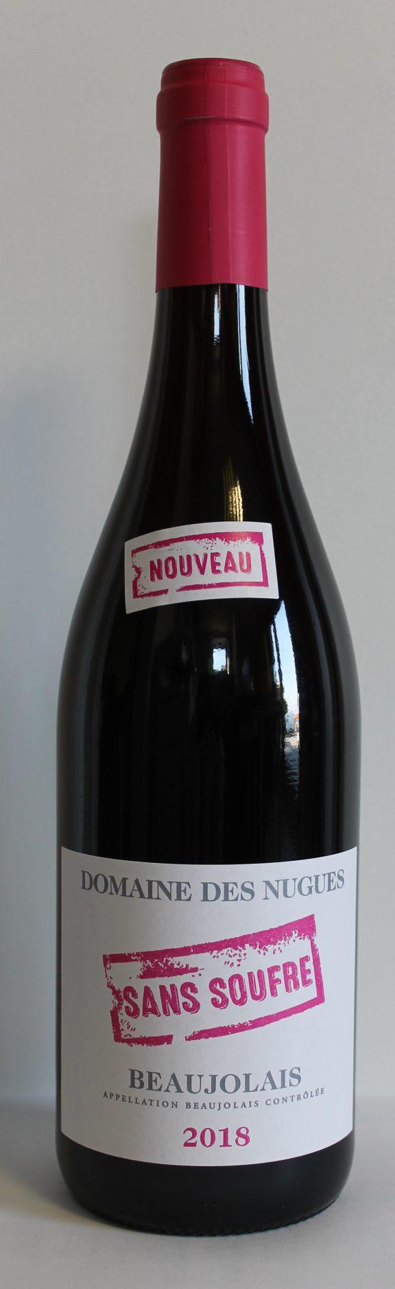 Beaujolais Nouveau sans Soufre 2018