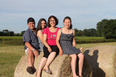 Gilles, Aude, Magali et Esther
